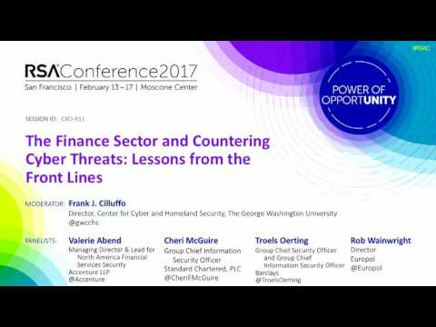 The Finance Sector and Countering Cyberthreats: Lessons from the Front Lines