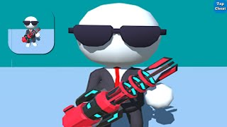 Laser Run 😀 All Levels Gameplay Max Level Android, iOS Mobile Game - New Update 1 - 14