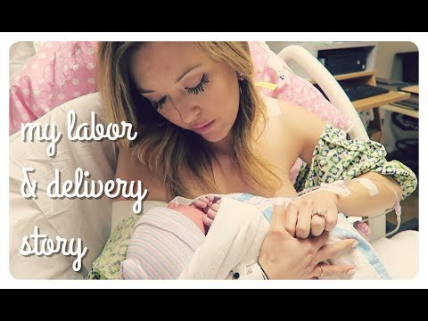 my labor + delivery story | induced natural birth