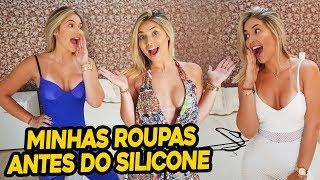 PROVANDO MINHAS ROUPAS ANTES DO SILICONE!!!