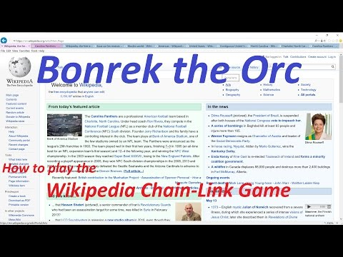 How To Play Wikipedia Chain-Link Game