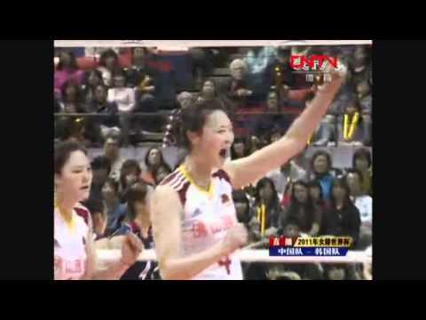 2011 FIVB Women's World Cup CHN vs KOR (2/3)