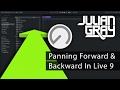Pan Forward And Backward & Creating Depth In A Mix - Ableton Live