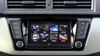 Škoda Auto | Amundsen Infotainment system 2018 | (Radio, Navigation, Media)