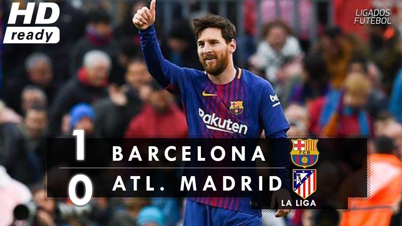 Download Barcelona vs Atletico Madrid 1-0 - All Goals & Highlights - RESUMEN Y GOLES | Marzo HD