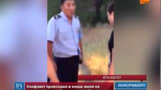 В сети появилось видео драки между сотрудниками  силовых ведомств