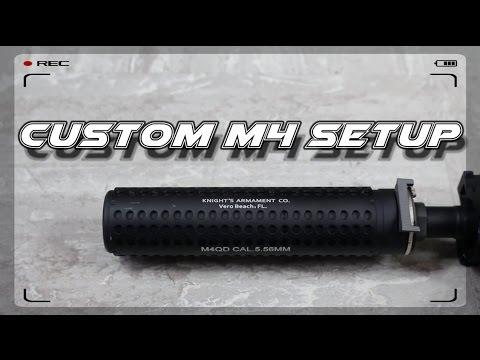 how to build an airsoft m4