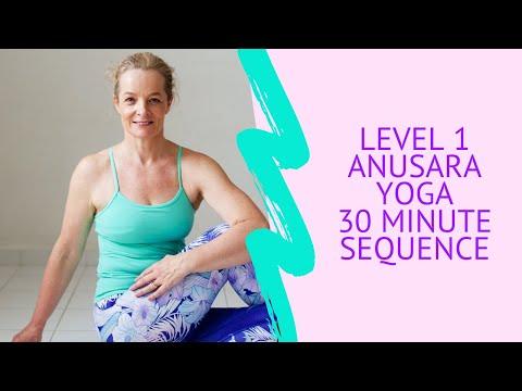 Level 1 Anusara Yoga class with Sarah Powell