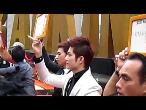 [Fancam] 121214 HITZ히트 Lee Jeong Hoon & Ferdinand K @Ranking1_Trans
