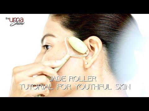 Jade Roller Tutorial for Youthful Skin