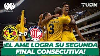 ¡A la final! América logra la remontada y elimina a los diablos | América vs Toluca - AP2013 | TUDN