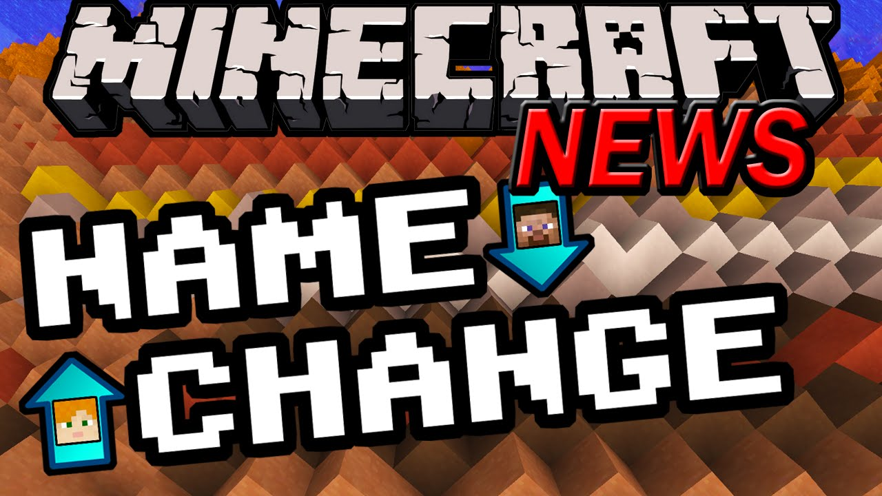 Minecraft News Name Changing New Launcher How To Change Username - Minecraft player name andern