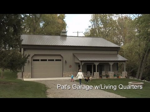 Pat's Garage w/Living Quarters