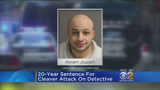 Man Who Slashed NYPD Detective Sentenced To 20 Years In Prison
