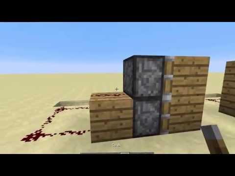 Minecraft Hvordan å Lage En Piston Dør