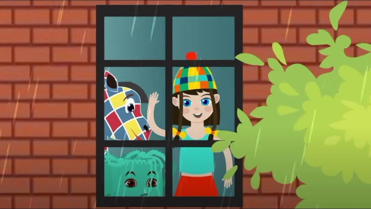 Внутри и Снаружи - Зебра в клеточку - Мультик Песенка для детей
