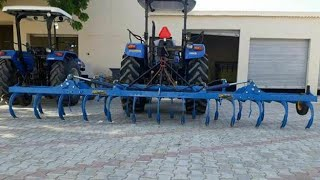 New Holland 9010 4wd vs 25 cultivator