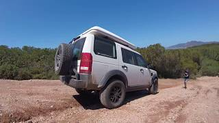SARDINIEN 2017 Land Rover Discovery 3 / Defender 110 / VW T5 Offroad