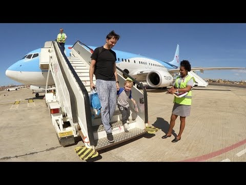 Familjen reser till Kap Verde VLOGG