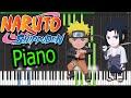 Naruto Shippuden Opening 3 Blue Bird Synthesia Piano HD Letra Y Midi