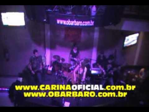 Locked Out Of Heaven, cover por Carina Mennitto no O Bar BarO