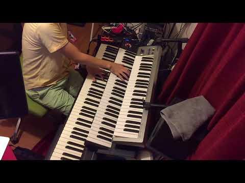 WUG 止まらない未来 キーボードで弾いてみた