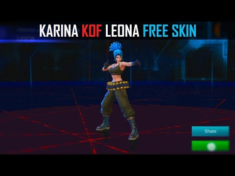 MOBILE LEGENDS KOF LEONA FREE SKIN