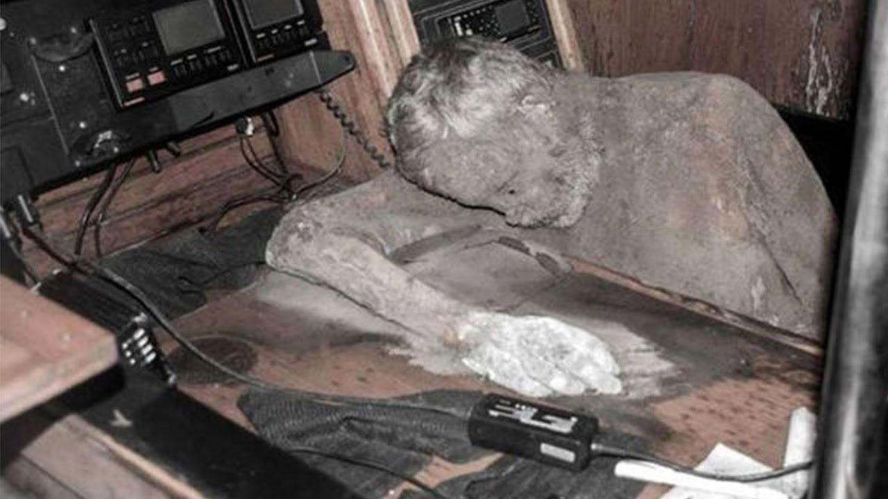 Lost Adventurers Mummified Body Found On Ghost Ship  YouTube