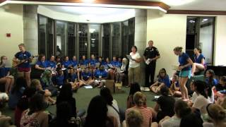 Wellesley College Stone-Davis/Dower Res Staff First-Year Welcome Song 2013!