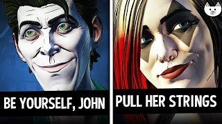 BE YOURSELF JOHN vs PULL HER STRINGS Choices - Batman The Enemy Within Episode 3 Gameplay Choices