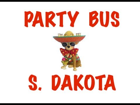 Party Bus Rental in South Dakota - Sioux Falls, Rapid City, Aberdeen, Brookings, Watertown