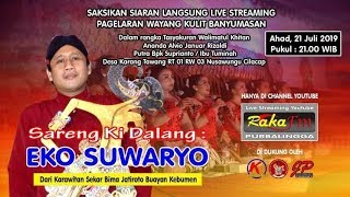 Gambar cover LIVE Wayang Kulit Ki Eko Suwaryo ~ Lakon Semar Mbabar Jati Diri (21 Juli 2019)
