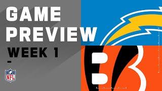 Los Angeles Chargers vs. Cincinnati Bengals Week 1 NFL Game Preview