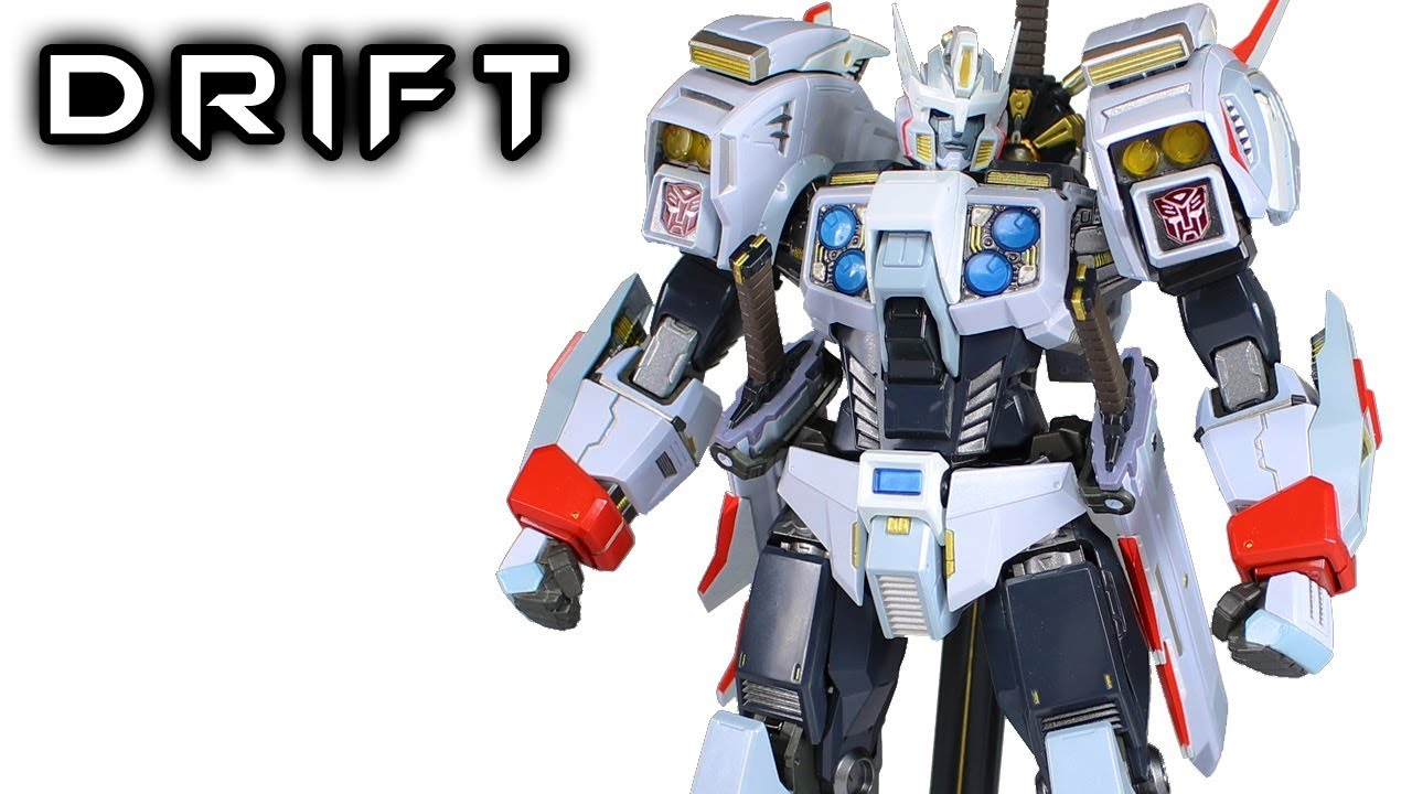 Flame Toys Drift Transformers Action Figure Review Youtube