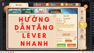 Mật Mã GAIA   Hướng Dẫn Cày Lever Nhanh - Đua TOP Cấp Sever Mới screenshot 3