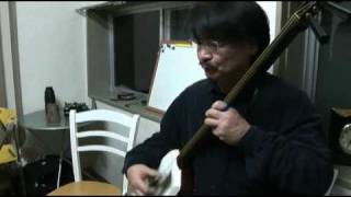 新年会での演奏です。 演奏 大内清野(和巳) Shamisen performance in T...