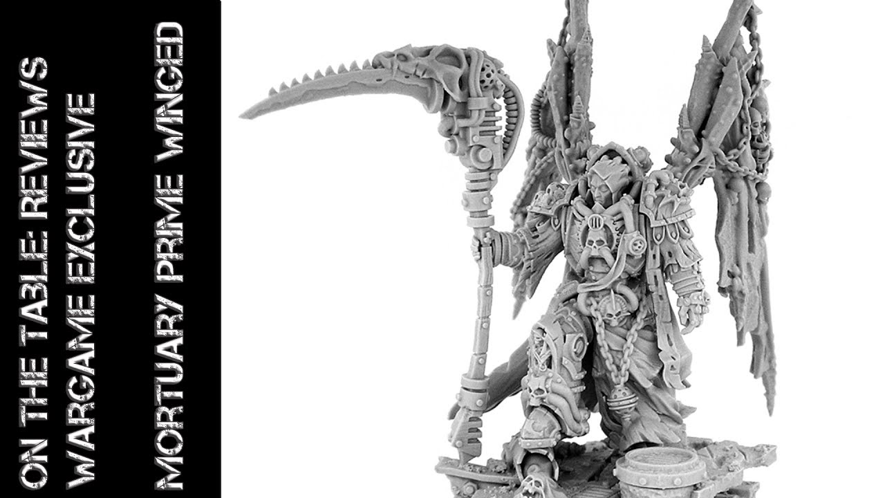 Modell Review: Wargame Exclusive: Mortuary Prime Winged - unboxing (Deutsch)