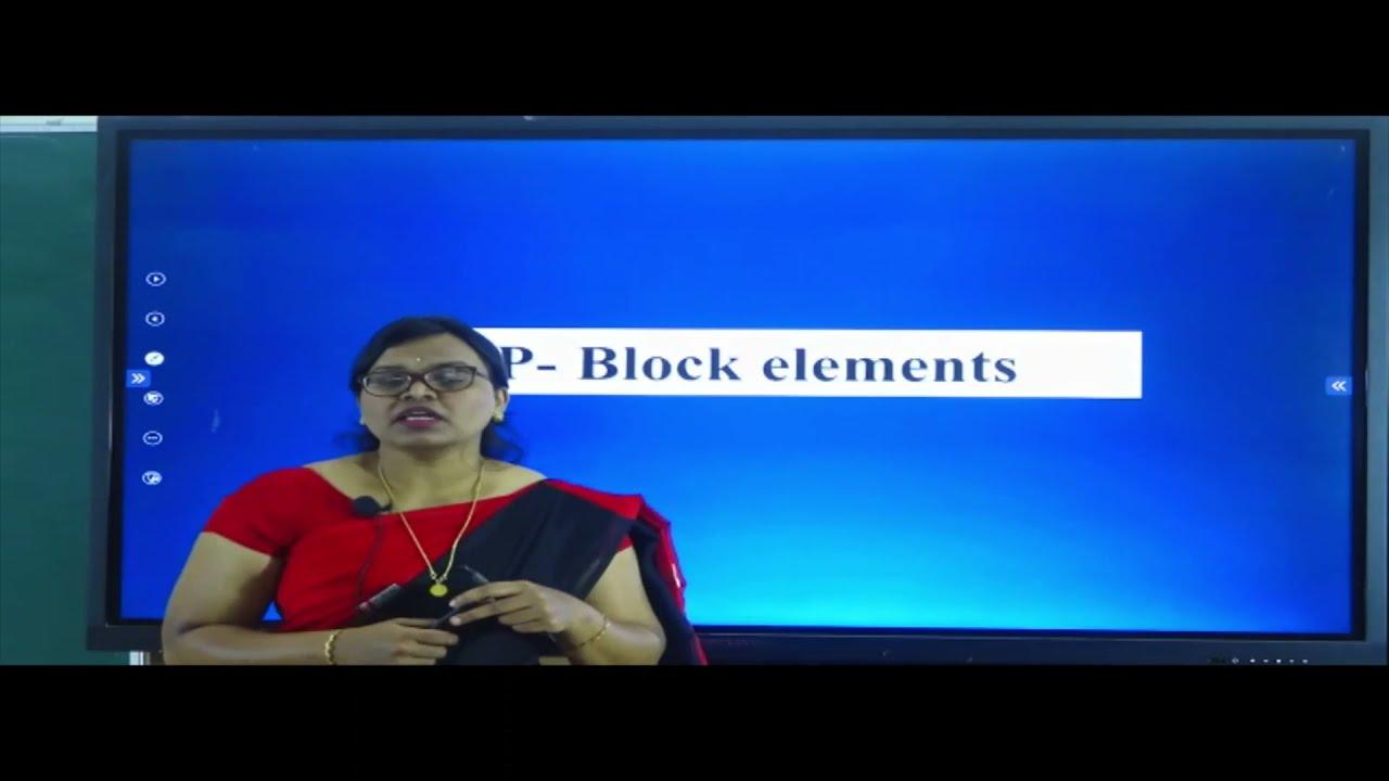 II PUC | CHEMISTRY | P BLOCK ELEMENTS