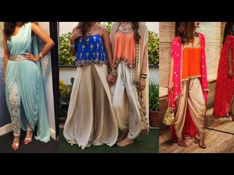 Latest Indo Western Designer dresses