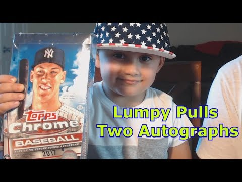 LUMPY PULLS TWO AUTOGRAPHS | BENNY NO | Baseball Card Pack Opening #2