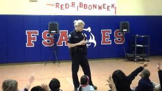 Fulton Sunshine Academy (FSA Elementary School) Observe Red Ribbon Week 2012 - Thanks PVO!