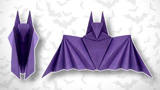 Origami Halloween Bat thumbnail