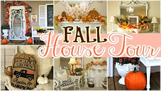 🍁FALL HOUSE TOUR 2019 / FALL HOME  DECOR 🍁