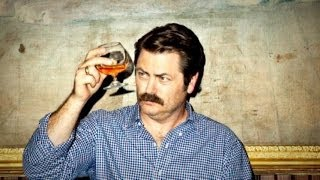Repeat youtube video A Five-Minute Lesson in Manhood With Nick Offerman