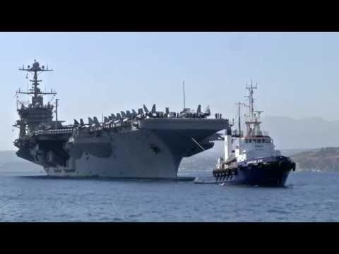 USS Harry S. Truman Visits Crete, Greece