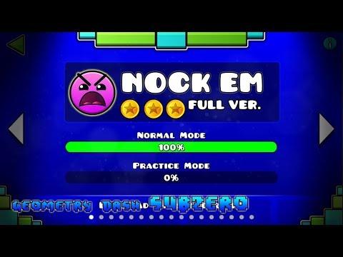 NOCK EM FULL VERSION!! - GEOMETRY DASH 2.11!!