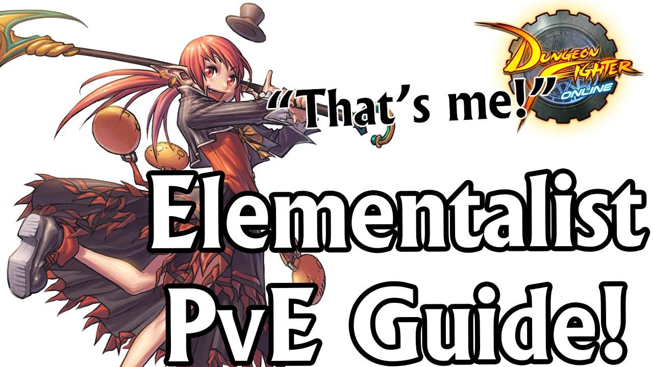 Dfo 101 Elementalists Beginner Pve Guide Dfo Youtube