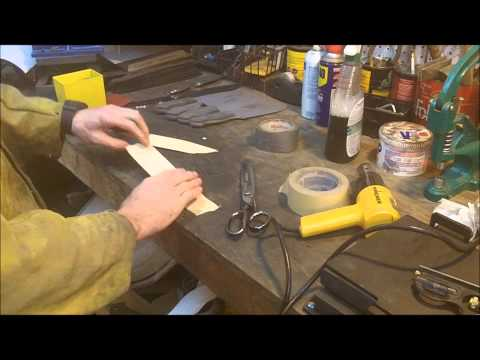 Knife Making Tutorial- How To Make Kydex Sheaths