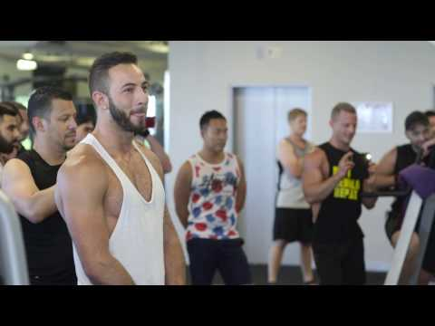 Nico & Mikey Flash Mob Proposal Fitness First Gym