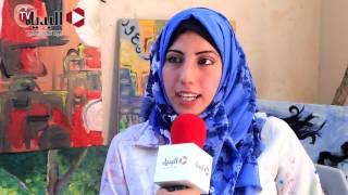 تعرف على «شروق أبو جرا» فنانة تشكيلية من قلب غزة